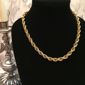 Heavy Gold Link Chain H17